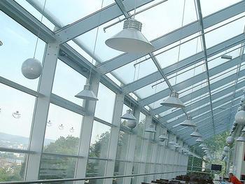 Bauvorhaben: Stadion Kaiserslautern VIP Wintergarten Montage Aluunterkonstruktion einschl. der Verglasung